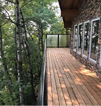 Edmonton composite decks